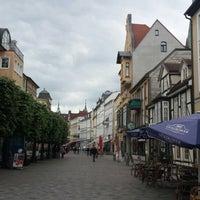 Photo taken at Marienplatz by Marina C. on 5/10/2014
