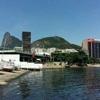 Photo taken at Clube de Regatas Guanabara by Elena D. on 12/31/2015