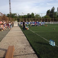 Photo taken at Стадион им. Логинова ДЮСШ #1 по легкой атлетике by Max R. on 5/31/2014