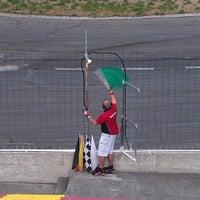 Photo taken at Stateline Speedway by Alyssa T. on 5/12/2013