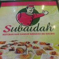Photo taken at Restoran Nasi Kandar Subaidah by Imran K. on 11/15/2012