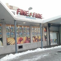 Photo taken at Fine Fare by Frederic D. on 2/9/2013