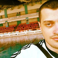 Photo taken at Sportski Centar Igalo by Kristian C. on 7/17/2013