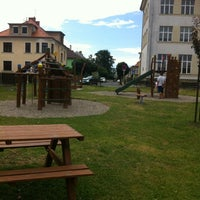 Photo taken at Detske hriste Mimoň by Petra H. on 7/30/2013