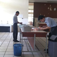 Photo taken at Restoran Pakuan Akademi Pariwisata Siliwangi by Riesya R. on 11/27/2012