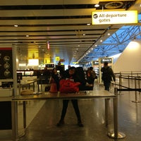 Photo taken at Security/Passport Control - T4 by Sofia F. on 6/2/2013