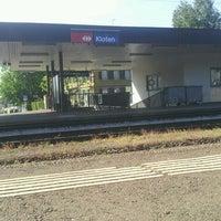 Photo taken at Bahnhof Kloten by Markus H. on 6/8/2013