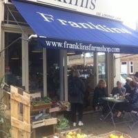 Photo taken at Franklins Restaurant by Sela Y. on 10/20/2012