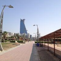 Photo taken at Al Corniche Walk by Mustafa H. on 5/21/2013
