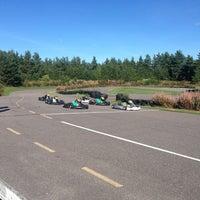Photo taken at Silversandin Karting Rata by Serj S. on 8/24/2013