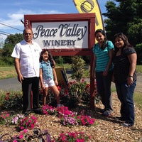 Photo taken at Peace Valley Winery by Joshua C. on 9/7/2013