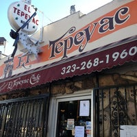 Photo taken at Manuel's Original El Tepeyac Cafe by South Park i. on 2/23/2013