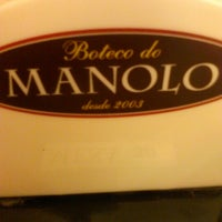 Photo taken at Boteco do Manolo by Filipe C. on 2/13/2013