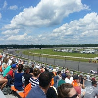 Photo taken at Pocono Raceway by Laura H. on 7/7/2013