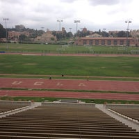 Photo taken at UCLA Drake Track & Field Stadium by topher s. on 6/24/2013