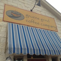 Photo taken at Gruene Grind Coffee Haus by Laura L. on 9/8/2013