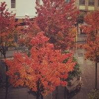 Photo taken at Praza Roxa by Maria P. on 11/21/2012