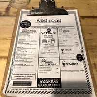 Photo prise au West Coast Burgers par Léonor d. le12/27/2017