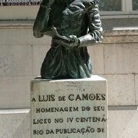 Photo taken at Escola Secundária de Camões (Liceu de Camões) by Koorosh A. on 9/13/2017