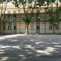 Photo taken at Escola Secundária de Camões (Liceu de Camões) by Koorosh A. on 5/8/2017
