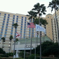 Photo taken at Rosen Plaza Hotel by Marsha C. on 1/15/2013