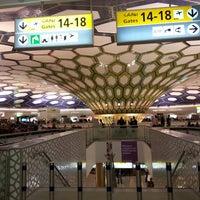 Photo taken at Abu Dhabi International Airport (AUH) by Zuzi D. on 5/19/2013