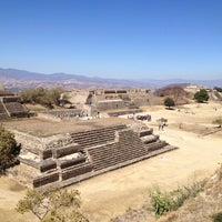 Photo taken at Monte Albán by Oswaldo A. on 2/2/2013