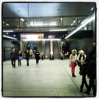 Photo taken at Metro =A= =C= Muzeum by Jan Č. on 1/26/2013