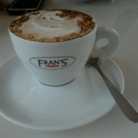 Photo taken at Fran's Café by Alice I. on 1/9/2013