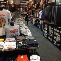Photo taken at Newbury Comics by Guilherme K. on 5/19/2014