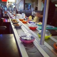 Photo taken at YO! Sushi by Marijus B. on 10/7/2012