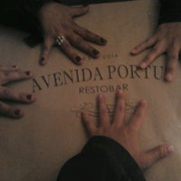 Photo taken at Avenida Portus RestoBar by Valeria P. on 3/2/2014