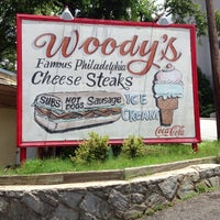 Photo taken at Woody's Famous CheeseSteaks by Justin on 7/8/2013