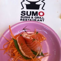 Photo taken at Running Sushi Sumo by Martin V. on 6/29/2013