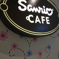 Photo taken at Sanrio Café by Yjara C. on 1/10/2013