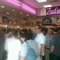 Photo taken at Zadies Bake Shop by Jeffrey K. on 9/4/2013