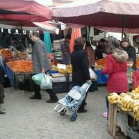 Photo taken at Salı Pazarı by Erdal A. on 2/5/2013