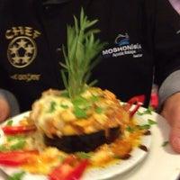 Photo taken at Moshonis Balıkçısı İsmail Chef by Ismail D. on 10/18/2013
