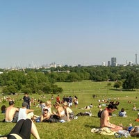 Photo taken at Primrose Hill by Demian R. on 7/7/2013