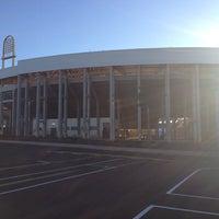 Photo taken at Estádio Doutor Adhemar Pereira de Barros (Arena da Fonte) by Odracir L. on 7/9/2013