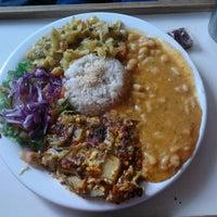 Photo taken at Restaurante Vegetariano Mandir by Suelen M. on 1/10/2013