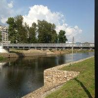 Photo taken at Банный мост by Aleksander M. on 8/10/2013