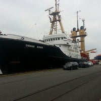 Photo taken at Fischereihafen II by 'Selçuk A. on 7/3/2013