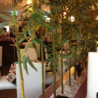 Photo taken at natur & sushi by Jimena M. on 7/21/2013