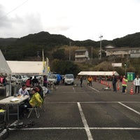 Photo taken at 足摺岬 バス停 by Tadahiro I. on 3/6/2016