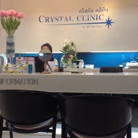 Photo taken at Crystal Clinic by Nathiya J. on 1/13/2016