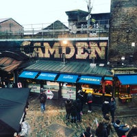 Photo taken at Camden Town by Guillaume A. on 2/12/2017