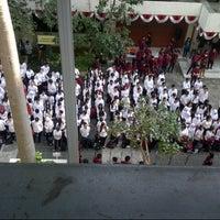 Photo taken at Gedung Parkir UNTAR by Verina L. on 8/13/2014
