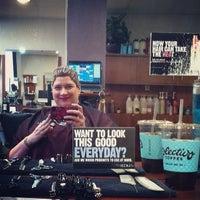 Photo taken at Capricio Salon & Spa by stylishboots on 3/8/2014