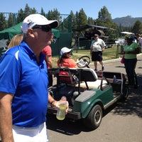 Photo taken at Edgewood Tahoe Golf Course by Amber W. on 7/20/2013